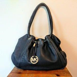 MICHAEL Michael Kors Pebble Leather Shoulder Bag